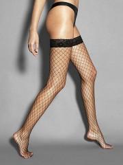 Samostoječe mrežaste nogavice (Veneziana)