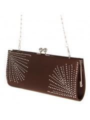 Damska torbica s kristalčki